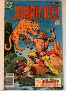 Jonah Hex #7 DC 1977 FN+ Bronze Age Comic Book 1st Print