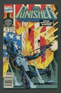Punisher #44 / 9.4 NM (Andy Kubert Cover)  Newsstand January 1991