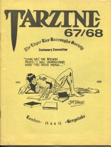Tarzine #67/68 1988-Bill Ross-ERB Collector Convention issue-Tarzan-John Cart...