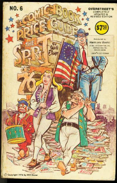 OVERSTREET COMIC BOOK PRICE GUIDE #6-1976-THE SPIRIT VG