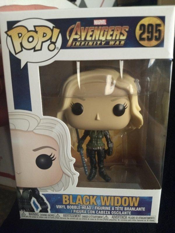 Black Widow Funko Pop #295 New in box