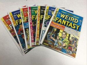 Weird Fantasy 1 3 4 5 6 7 8 Lot Set Run Nm Near Mint An Entertaining Comic