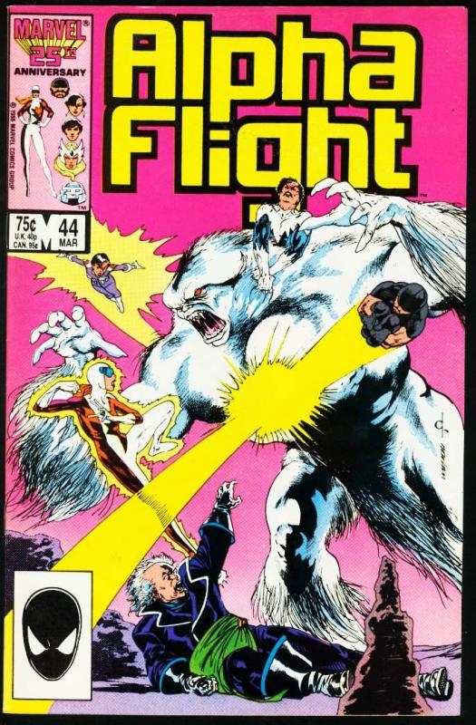 ALPHA FLIGHT #44-MARVEL COMICS-MUTANTS! NM