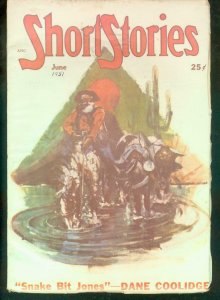 SHORT STORIES PULP 1951 JUNE BOWEN GREGORY MULFORD PULP VG