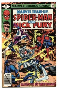 Marvel Team-up #83- SPIDER-MAN and NICK FURY NM-