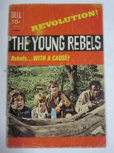 YOUNG REBELS #1 (Dell,1/1971) (FAIR;FR) Photo Cover!