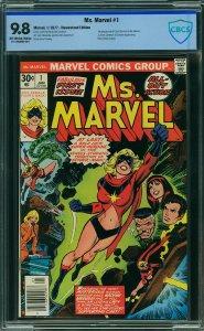 MS MARVEL #1 CBCS 9.8 (1st Carol Danvers as Ms. Marvel) 1977