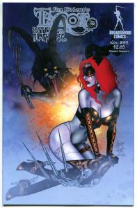 TAROT WITCH of the Black Rose #95, VF+, Jim Balent, 2000, Holly Golightly, Whip