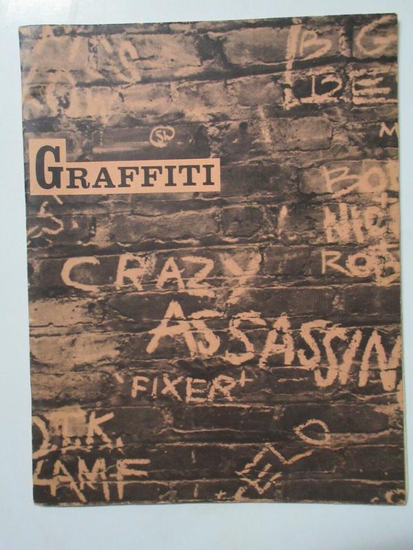 Graffiti Magazine Robert J. Lorens Editor No. 4 June 1964 Beatnik Lit + Cartoons
