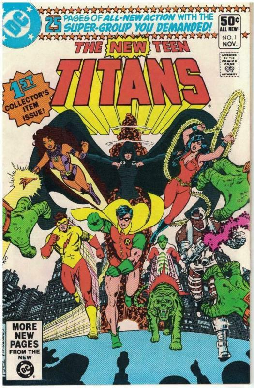 TEEN TITANS (1980) 1 VF Nov. 1980