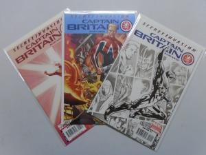 Secret Invasion Captain Britain, 3 Diferent, 8.0/VF (2008)