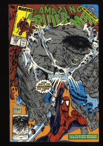 Amazing Spider-Man #328 FN/VF 7.0 vs Hulk! Todd McFarlane Art!