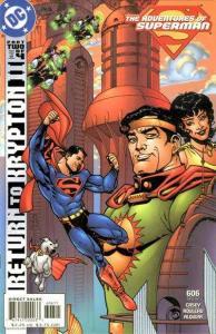 Adventures of Superman (1987 series) #606, NM- (Stock photo)
