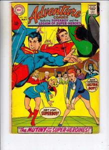 Adventure Comics #368 (May-68) VG Affordable-Grade Legion of Super-Heroes, Su...