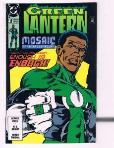 Green Lantern #16 VF DC Comics Mosaic Pt.3 Comic Book Jones Hal Jordan 1990 DE12