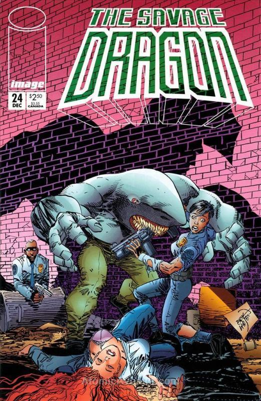 Savage Dragon, The #24 VF/NM; Image | save on shipping - details inside