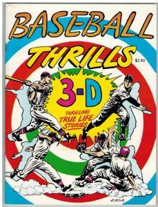 BASEBALL THRILLS 3D ZONE VF-NM (1990) W/GLASSES ( 2.95