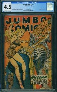Jumbo Comics #113 (1948) CGC 4.5