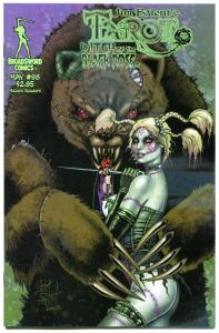TAROT WITCH of the Black Rose #98, NM, Jim Balent, 2000, Holly Golightly, Bear