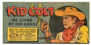 Kid Colt He Lived by His Guns Comic 1950- VF-
