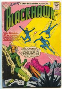 Blackhawk #186 1963-LADY BLACKHAWK- DC comics G/VG