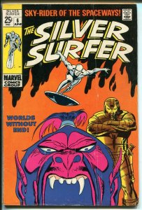 Silver Surfer #6 1969-Marvel-Giant edition-John Bucsema art-VG
