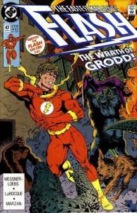 Flash (1987 series) #47, NM- (Stock photo)