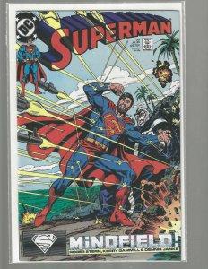 Superman, #33, DC Comic, 1989, High Grade