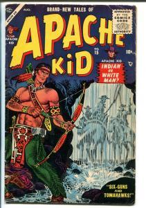Apache Kid  #15 1955-Atlas-Joe Maneely cover-VG+