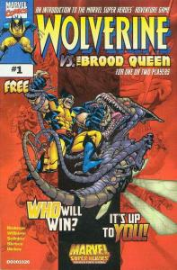 Marvel Super-Heroes: Wolverine vs. The Brood Queen #1 VF/NM; Marvel | save on sh