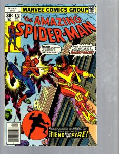 Amazing Spider-Man # 172 NM- Marvel Comic Book MJ Vulture Goblin Scorpion TJ1