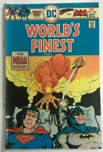 WORLD'S FINEST#232 FN 1975 DC BRONZE AGE COMICS