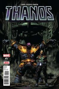 Thanos (2017 series) #5, NM + (Stock photo)