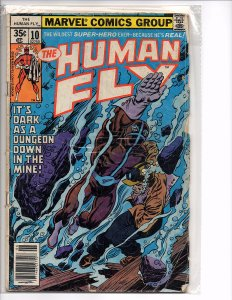 Marvel Comics The Human Fly #10  Dave Cockrum Bill Mantlo (Spine wear)