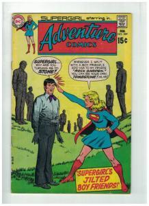 ADVENTURE 389 VG-F Feb. 1970  Supergirl