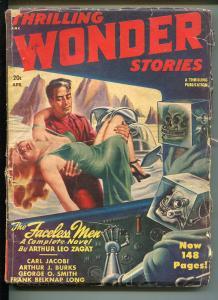 THRILLING WONDER STORIES 4/1948-EARLE BERGEY-HENRY KUTTNER-PULP-fr