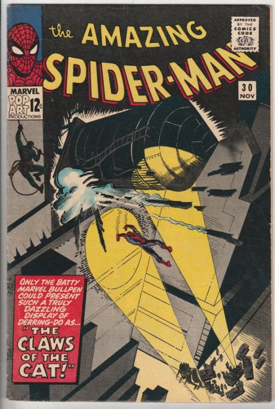 Amazing Spider-Man #30 (Nov-65) VF+ High-Grade Spider-Man
