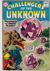 Challengers of the Unknown #8 (Jul-59) VG/FN Mid-Grade Challengers of the Unk...