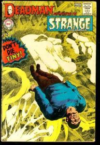 STRANGE ADVENTURES #213-DEADMAN/NEAL ADAMS VG