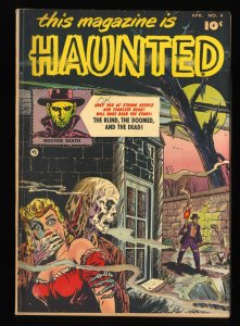 This Magazine is Haunted #4 VG/FN 5.0
