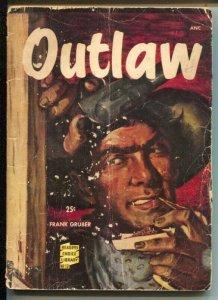 Reader Choice Library #13 1950-Outlaw-Frank Gruber-Wyatt Earp-Wild Bill Hickok-1