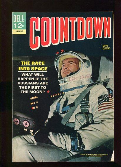 COUNTDOWN #1 (1967) 9.6 OW/W PGS DELL COMIC SPACE RACE!! BEAUTIFUL HIGH GRADE
