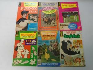 Walt Disney Showcase comic lot 11 different issues (1971) 4.0 VG