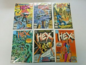 Hex DC Comics Set #1-18 Average 8.5 VF+ (1985-1987)