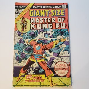 Giant size Master of Kung Fu #3
