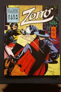 Zorro, Complete Classic Adventures, Alex Toth, Vol 2
