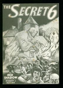 SECRET 6 #1 1986 - RED SHADOW PULP REPRINT LIMITED TO 500 -VG