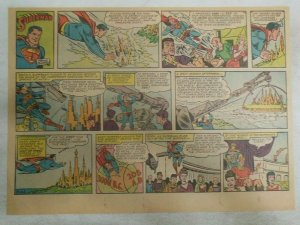 Superman Sunday Page #1158 by Wayne Boring from 12/241961 Size ~11 x 15 inches