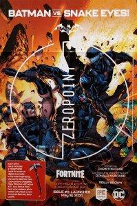 Batman Fortnite Zero Point #3 Folded Promo Poster (24 x 36) New! [FP56]