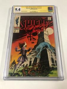 Nick Fury 3 Agent Of Shield Cgc 9.4 Ow/w Pages Ss Signature Series Jim Steranko